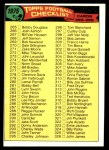1975 Topps #376   Checklist 265-396 Front Thumbnail