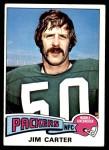 1975 Topps #19  Jim Carter  Front Thumbnail