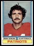 1974 Topps #357  Brian Dowling  Front Thumbnail