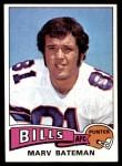 1975 Topps #169  Marv Bateman  Front Thumbnail