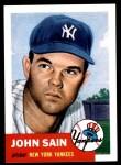 1953 Topps Archives #119  Johnny Sain  Front Thumbnail