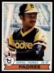 1979 Topps #679  Derrel Thomas  Front Thumbnail