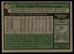 1979 Topps #475  Dan Driessen  Back Thumbnail