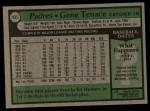 1979 Topps #435  Gene Tenace  Back Thumbnail