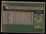 1979 Topps #236  Jim Dwyer  Back Thumbnail