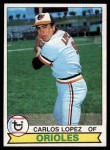1979 Topps #568  Carlos Lopez  Front Thumbnail