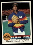 1979 Topps #203   -  J.R. Richard Record Breaker Front Thumbnail