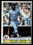 1979 Topps #380  John Mayberry  Front Thumbnail