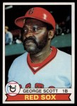 1979 Topps #645  George Scott  Front Thumbnail