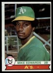 1979 Topps #613  Mike Edwards  Front Thumbnail