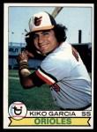 1979 Topps #543  Kiko Garcia  Front Thumbnail