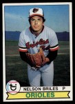 1979 Topps #262  Nelson Briles  Front Thumbnail