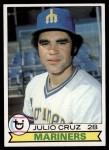1979 Topps #583  Julio Cruz  Front Thumbnail