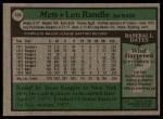 1979 Topps #454  Len Randle  Back Thumbnail