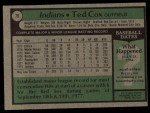 1979 Topps #79  Ted Cox  Back Thumbnail