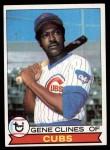 1979 Topps #171  Gene Clines  Front Thumbnail