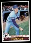1979 Topps #298  Rich Gale  Front Thumbnail