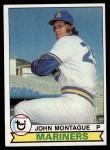 1979 Topps #337  John Montague  Front Thumbnail