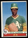 1979 Topps #191  Mike Norris  Front Thumbnail