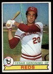 1979 Topps #220  Cesar Geronimo  Front Thumbnail