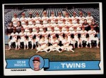 1979 Topps #41   -  Gene Mauch Twins Team Checklist Front Thumbnail