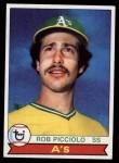 1979 Topps #378  Rob Picciolo  Front Thumbnail