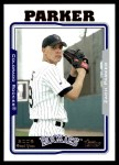 2005 Topps #7   -  Zach Parker First Year Front Thumbnail