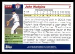 2005 Topps #2   -  John Hudgins First Year Back Thumbnail