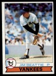 1979 Topps #179  Jim Beattie  Front Thumbnail