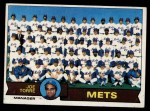 1979 Topps #82   -  Joe Torre Mets Team Checklist Front Thumbnail