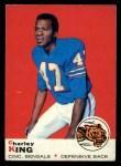 1969 Topps #79  Charley King  Front Thumbnail