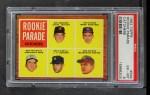 1962 Topps #594   -  Bob Uecker / Doc Edwards / Ken Retzer / Don Pavletich / Doug Camilli Rookie Parade - Catchers Front Thumbnail