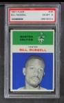 1961 Fleer #38  Bill Russell  Front Thumbnail
