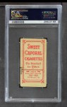 1909 T206 RED Ty Cobb  Back Thumbnail