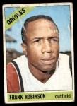 1966 Topps #310  Frank Robinson  Front Thumbnail
