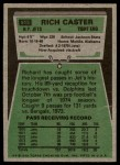 1975 Topps #515  Richard Caster  Back Thumbnail