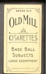 1910 T210-3 Old Mill Texas League  Burk  Back Thumbnail