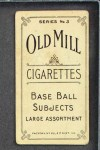 1910 T210-3 Old Mill Texas League  McKay  Back Thumbnail