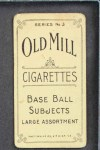 1910 T210-3 Old Mill Texas League  Bell  Back Thumbnail