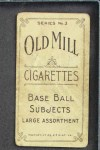 1910 T210-3 Old Mill Texas League  Tullas  Back Thumbnail