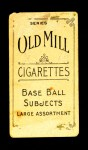 1910 T210-3 Old Mill Texas League  Hise  Back Thumbnail