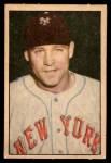 1952 Berk Ross  Wes Westrum  Front Thumbnail