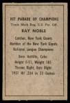 1952 Berk Ross  Ray Noble  Back Thumbnail