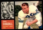 1962 Topps #53  Gail Cogdill  Front Thumbnail
