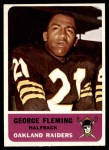 1962 Fleer #70  George Fleming  Front Thumbnail