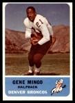 1962 Fleer #35  Gene Mingo  Front Thumbnail