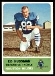 1962 Fleer #55  Ed Hussman  Front Thumbnail