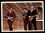 1964 Topps Beatles Color #44   Beatles in concert Front Thumbnail