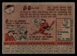 1958 Topps #70 *YN* Al Kaline  Back Thumbnail