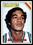 1975 Topps #172  Jim Washington  Front Thumbnail